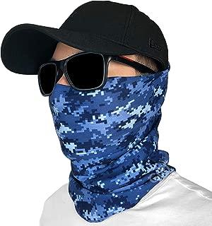 GOT Sports Fishing Mask Camo Headwear - Works as Fishing Sun Mask, Neck Gaiter, Headband, Bandana, Balaclava - Multifunctional Breathable Seamless Microfiber