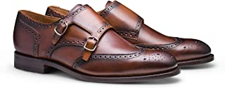 regal bearing leather monk strap dress shoe