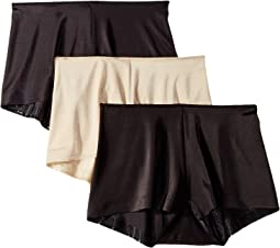 TC Intimates by Miraclesuit Microfiber Boyshorts 3-Pack
