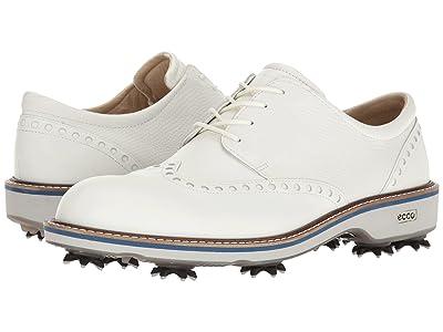 ECCO Golf Golf Lux (White/White) Men