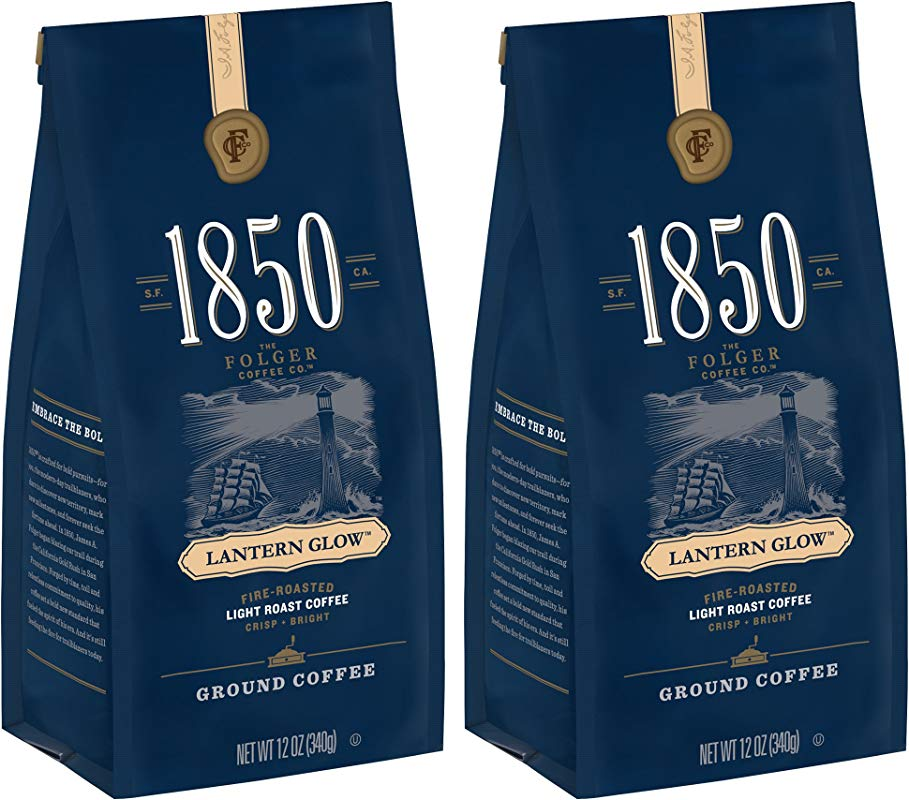 1850 Lantern Glow Light Roast Ground Coffee 2 Count