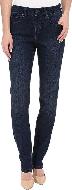 Five-Pocket Addison Skinny Jeans in Seattle Blue