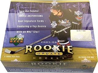 2005/06 Upper Deck Rookie Update Hockey Cards Hobby Box