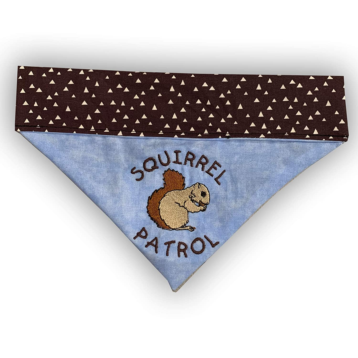 All stores are sold Squirrel New item Patrol Bandana Over Collar the Embroidered Dog