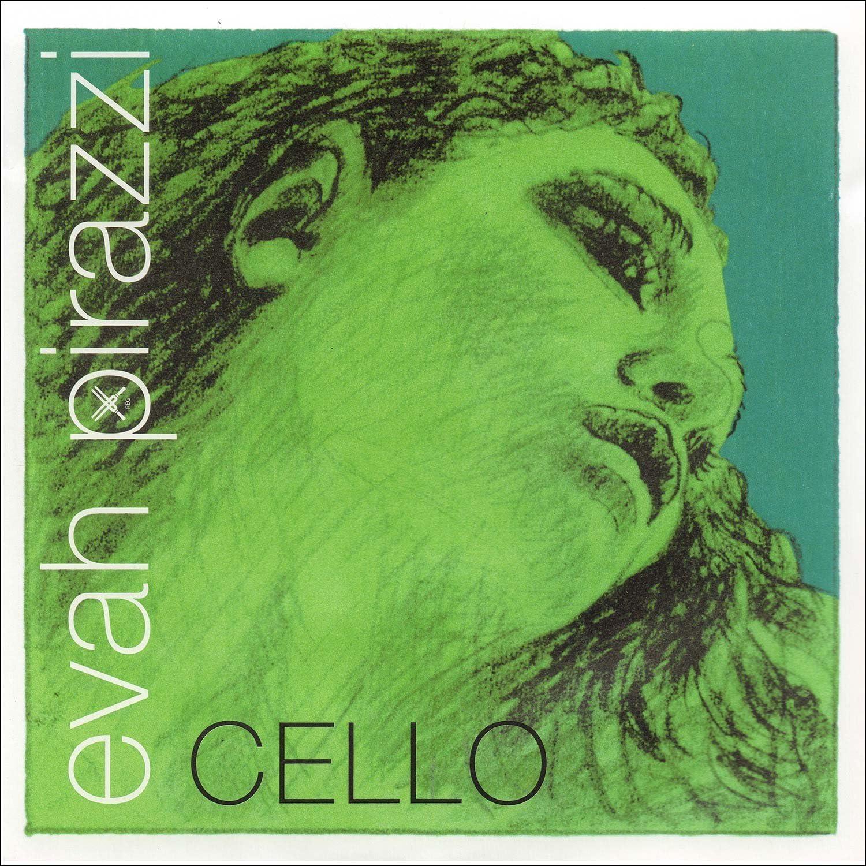 Pirastro Evah Pirazzi 4 Cello New mail order Chromesteel-Stee String Medium 5 ☆ popular A