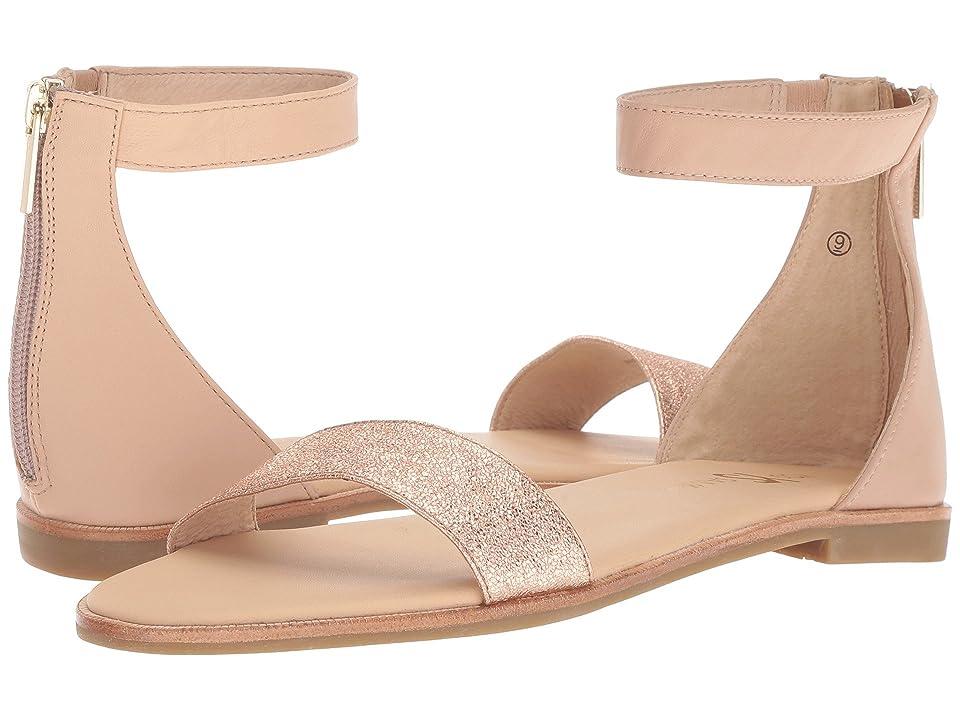3926db4170d4 Yosi Samra Cambelle (Nude Rose Gold Nappa Metallic Leather) Women s Shoes
