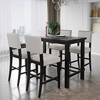 Amazon Com Counter Height Dining Table Sets