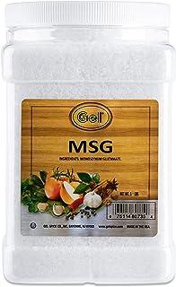 Gel Spice Bulk Size Flavor Enhancer M.S.G. Monosodium Glutamate 3 LB / 48 OZ   Commercial Size