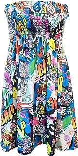 225dccd43de0 Amazon.es: Vestido estampado comic: Ropa