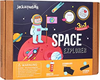 Space Themed STEM Educational Craft Toy for Boys and Girls | 3 Activities-in-1 Kit | Best Gift for kids Aged 7-10 years ol...