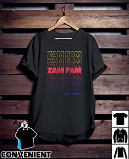 Rebecca Zamolo Zamfam Neon Stacked Repeated Stay Weird T Shirt Long Sleeve Sweatshirt Hoodies