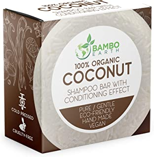 Solid Shampoo Bar And Conditioner Effect Hair Soap – 100% Organic Shampoo Bars For Hair With All Natural Plant Based Essen...
