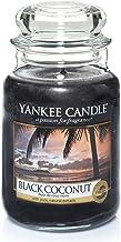 Yankee Candle 5038580013412 jar Large Black Coconut YSDBC2, one Size