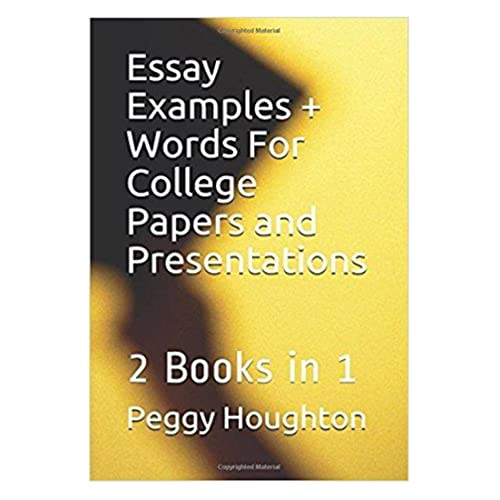 Essays Examples Amazoncom Essay Examples  Words For College Papers And Presentations  Books In