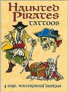 Dover Pub Little Haunted Pirates Tattoos Bk
