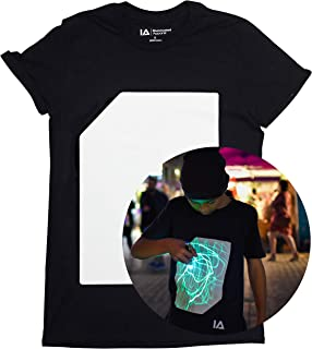 Illuminated Apparel Interaktive Leucht T-Shirt