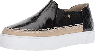 A|X Armani Exchange Womens 9450648P477 Snakeskin Textured Slip on Platform Sneaker