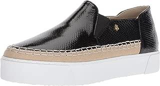 A|X Armani Exchange Womens 9450648P477 Snakeskin Textured Slip on Platform Sneaker
