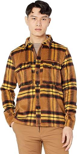 Jackson Brushed Wool Check Overshirt