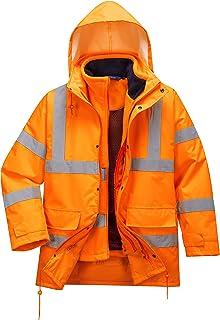 XL Orange Portwest rt63orrxl Veste haute visibilit/é imperm/éable et respirante