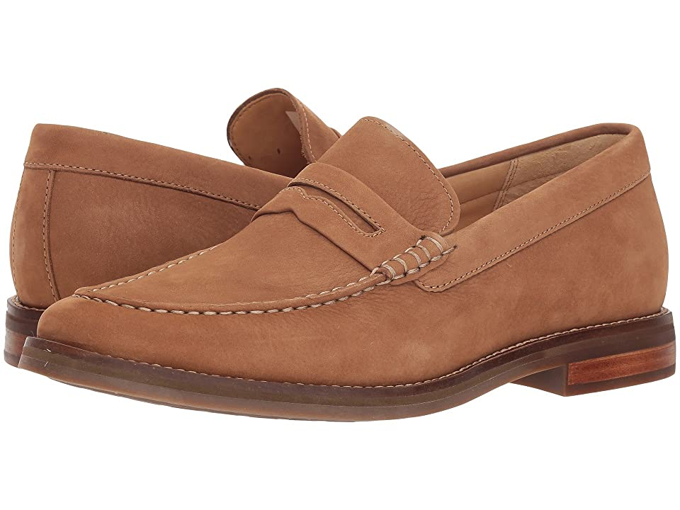 Sperry Gold Exeter Penny Loafer (Tan Nubuck) Men