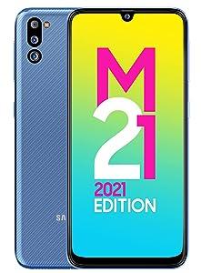 Samsung Galaxy M21 (Midnight Blue, 6GB RAM, 128GB Storage)