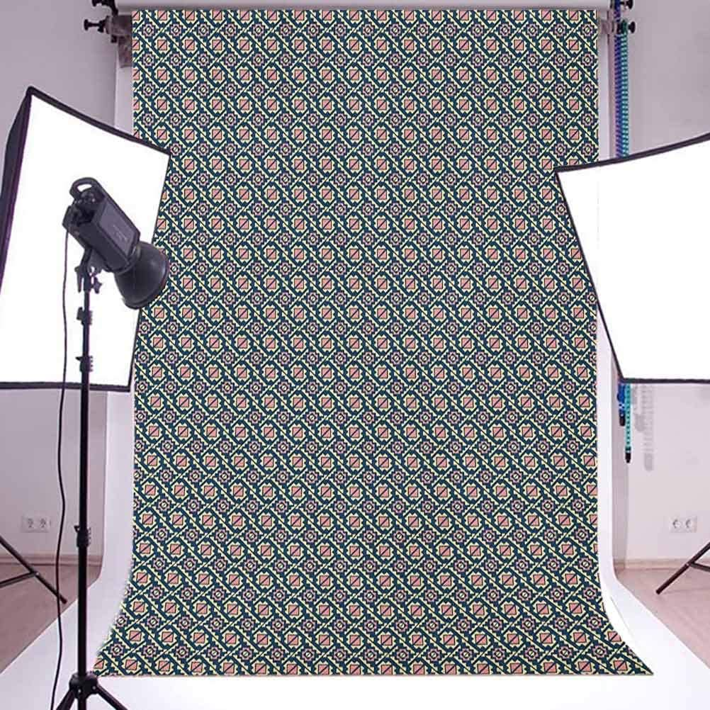 8x12 FT Nursery Vinyl Photography Backdrop,Frogs in Different Positions Funny Happy Cute Expressions Faces Toads Cartoon Background for Baby Birthday Party Wedding Studio Props Photography