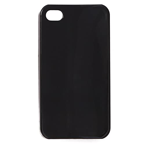 576e3f6b5032f0 iCandy™ Glossy Hard Back Cover for Apple iPhone 4   Apple iPhone 4s - Black