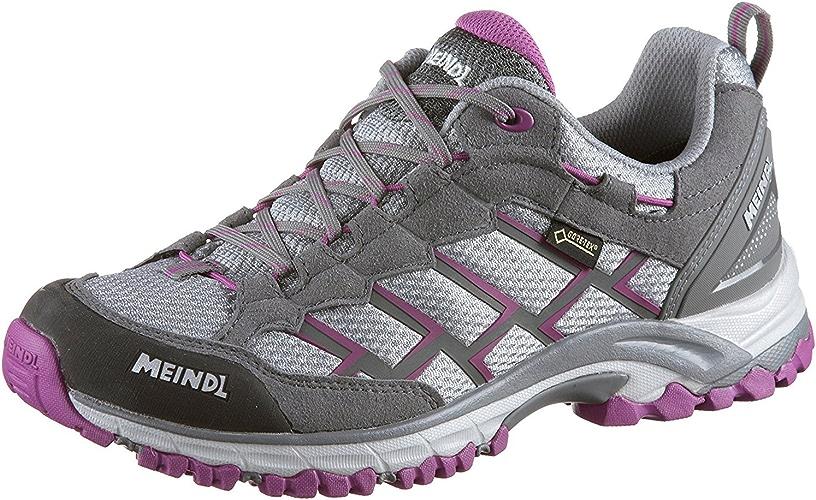 Meindl Caribe Lady GTX, Chaussures de Sport d'extérieur pour Femme - gris - gris violet, 7