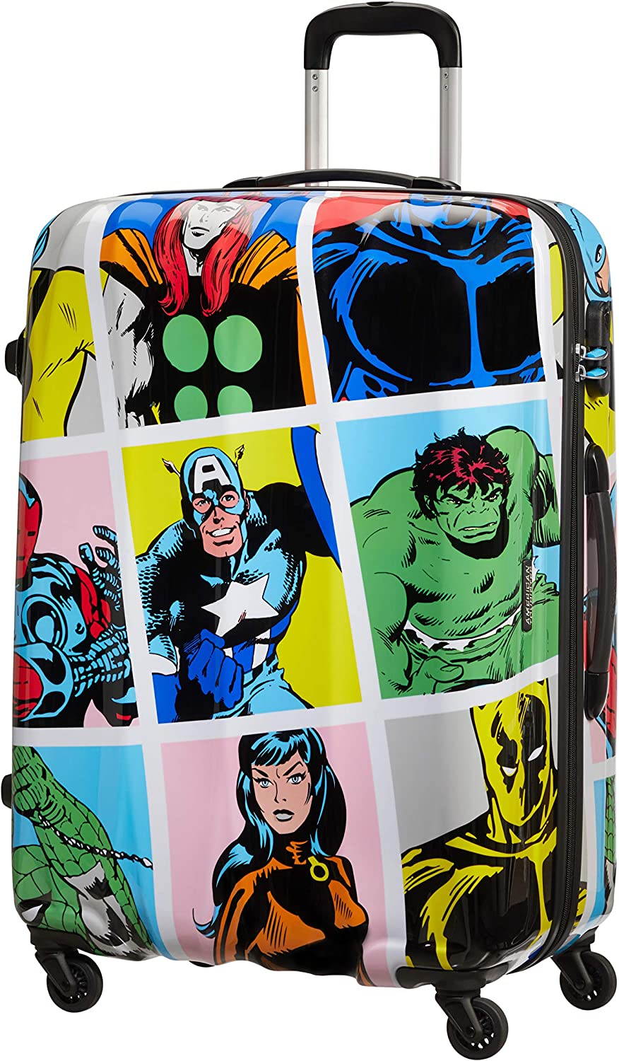 American Super intense Ranking TOP3 SALE Tourister Unisex_Adult Multicolored Luggage Suitcase