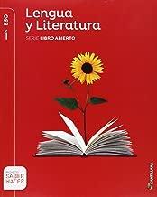Lengua castellana y literatura 1 ESO libro abierto saber hacer