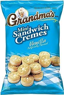 Grandma's Mini Cookies, Vanilla Crème, 3.71 Ounce (Pack of 72)