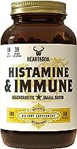 Heart & Soil Histamine & Immune Supplement — Grass Fed Thymus, Lung, Spleen, Liver, and Kidney to Support Immune Health, E...