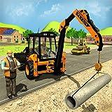 Caratteristiche di City Road Builder Construction Excavator Simulator: -Di più impegnativi scavi per terne per la costruzione di strade e controlli idraulici sensibili per la costruzione di condotte e gru per escavatori per lavori forestali. Ottimizz...