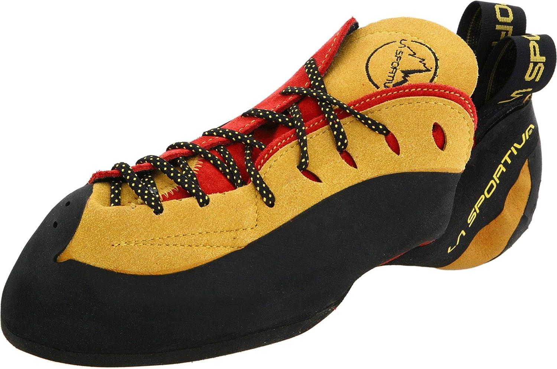 La Sportiva Testarossa Shoe Red/Yellow