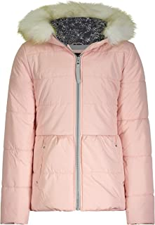 Jessica Simpson Girls' Expedition Parka, Soft Pink, 14/16
