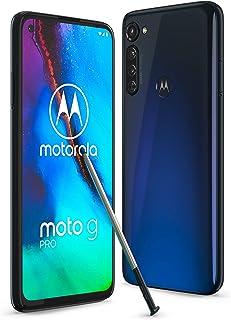 """Motorola Moto G Pro - Smartphone de 6,4"""" con lápiz táctil incorporado, 4GB RAM + 128GB de ROM, dual Sim - Color Mystic Ind..."""