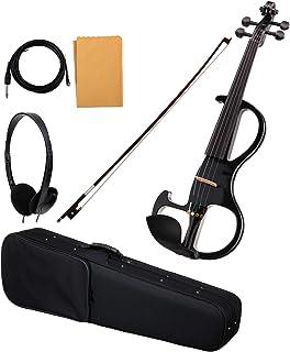 Classic Cantabile EV-90BK 4/4 violín eléctrico negro