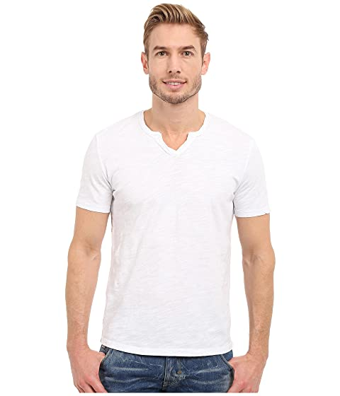 con blanca cuello Topanga V o Mod en doc camiseta corta manga qvPBnZxXwp