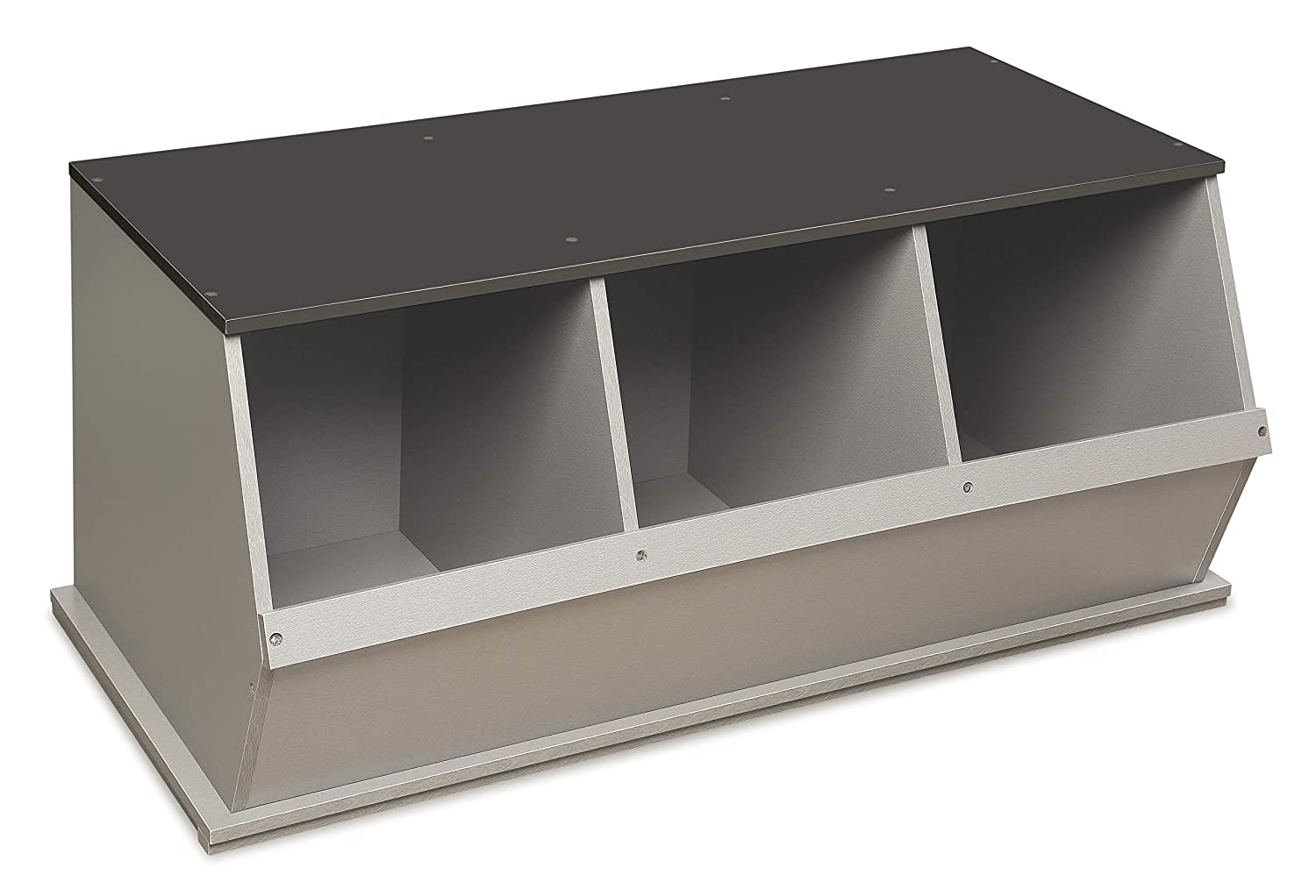 Stackable 3 Bin Open Toy Organizing At the price Storage Cubby Limited Special Price
