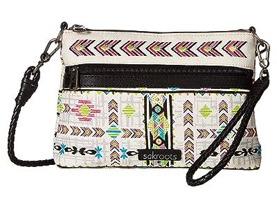 Sakroots Artist Circle Campus Mini (Optic Spirit Wanderer) Cross Body Handbags