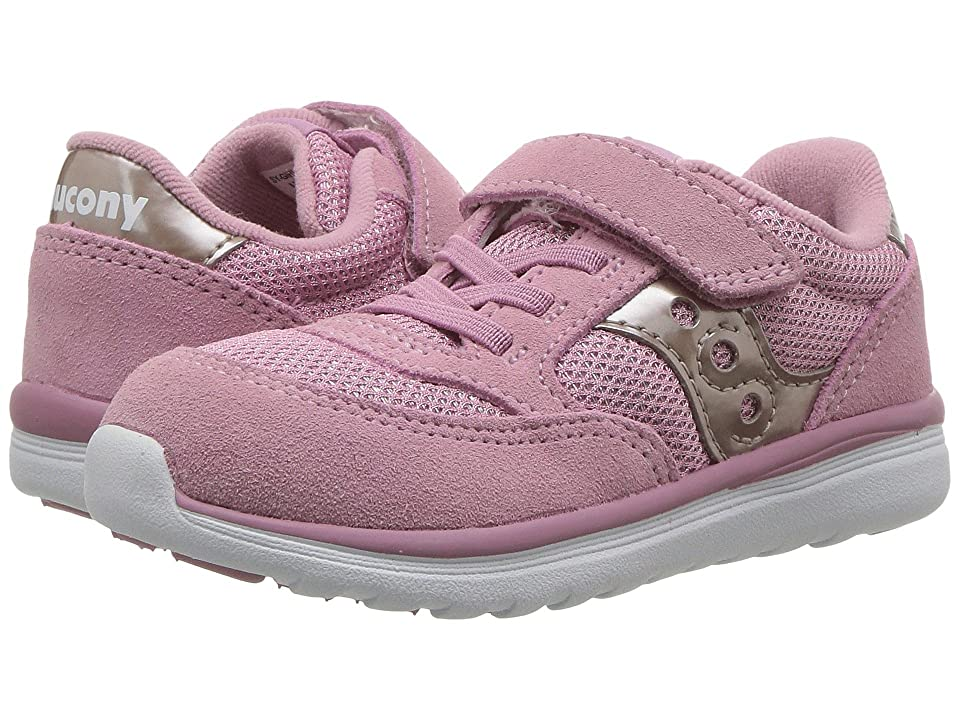 Saucony Kids Originals Jazz Lite (Toddler/Little Kid) (Blush Metallic) Girls Shoes