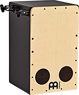 Meinl Percussion Cocktail Cajon Kit with Pickups, Accessories and Mounts— MADE IN EUROPE — Forward Facing Ports and No Sna...