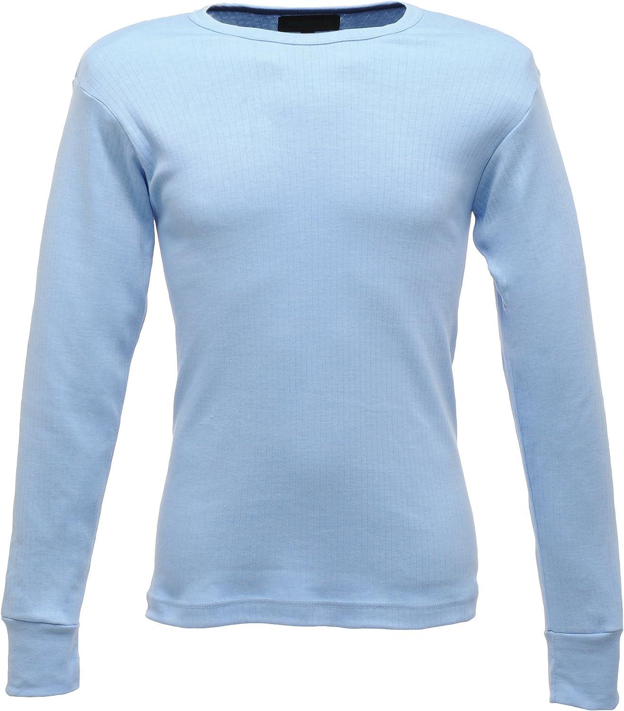 Regatta Thermal Underwear Long Sleeve Vest/Top (S) (Blue)