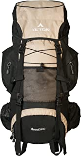 TETON Sports Scout 3400 Internal Frame Backpack; High-Performance Backpack for Backpacking, Hiking, CampingClick to see price