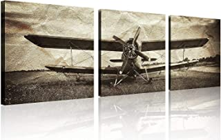 Best airplane canvas art Reviews
