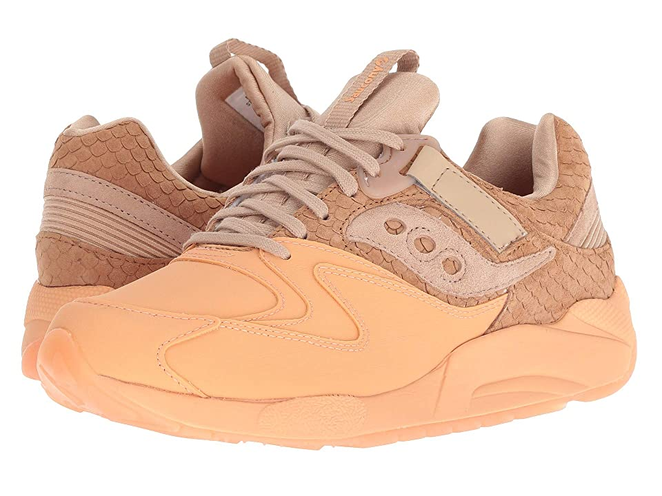 Saucony Originals Grid 9000 HT (Tan/Orange) Men