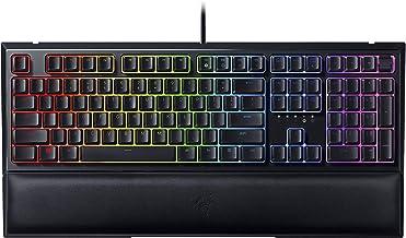 Razer Ornata V2 Gaming Keyboard: Hybrid Mechanical Key Switches - Customizable Chroma RGB Lighting - Individually Backlit ...