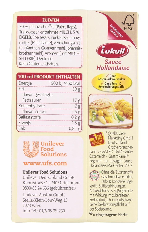 Lukull   Sauce Hollandaise   20ml  Amazon.de Lebensmittel ...