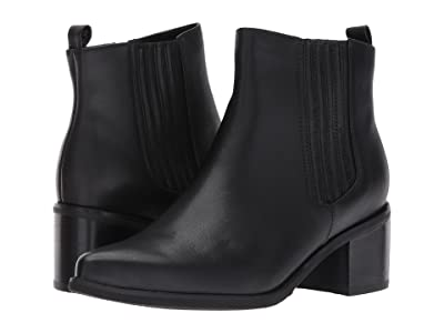 Blondo Elvina Waterproof Bootie (Black Leather) Women